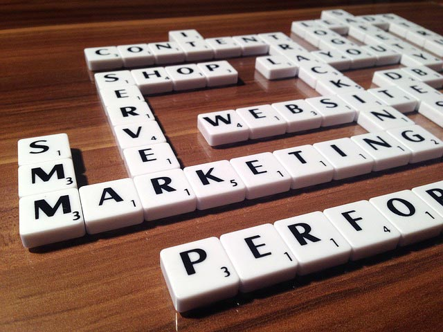 content marketing scrabble words