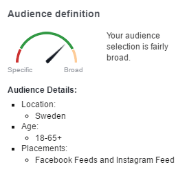 Facebook Audience Details